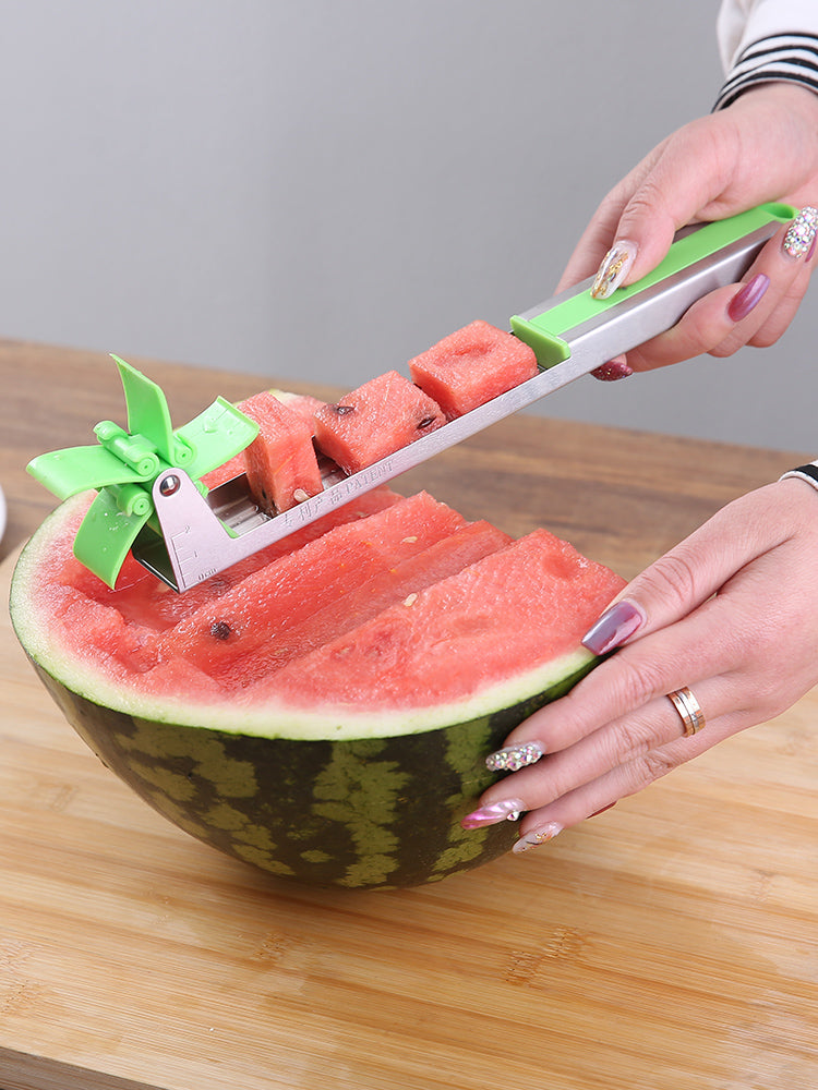 """Buy 3 get 1 free""304 stainless steel watermelon cutter"