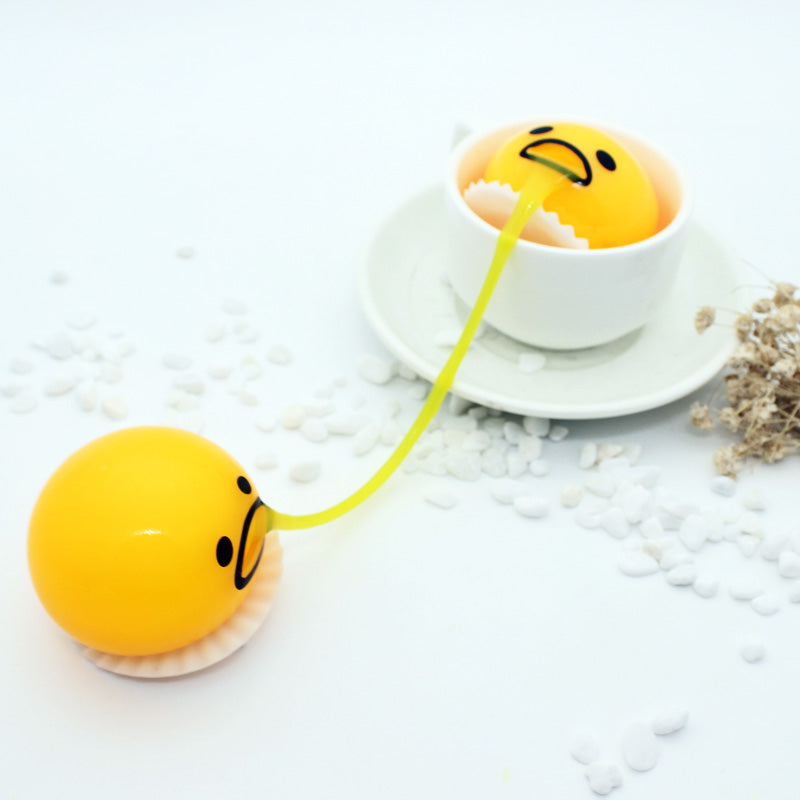 Vomiting Sucking Egg Toy-Anti Stress