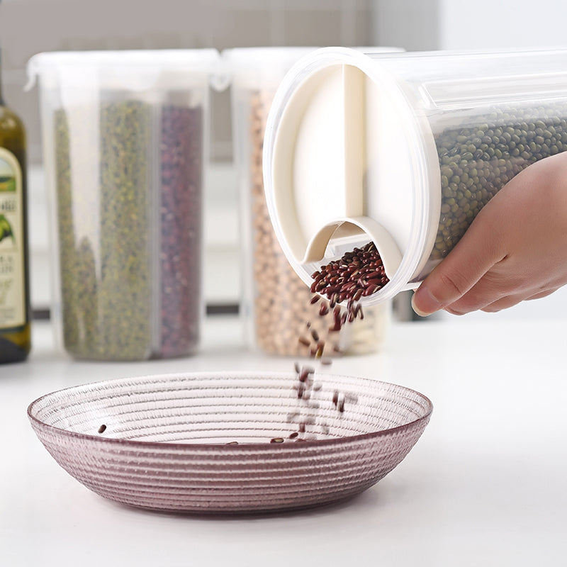 Rotating Design Reusable Storage Containers-Completely Plastic-Free