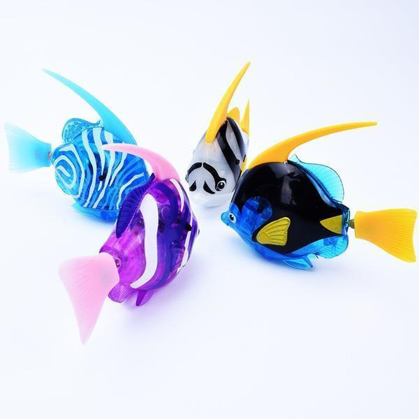 'Buy 2 free shipping 'Mini cute electric fish animal pet toy