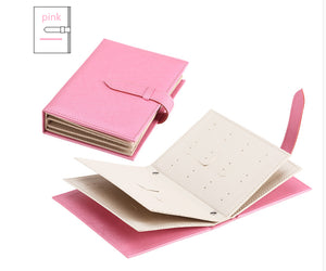 'BUY 2 FREE SHIPPING 'Earring storage book