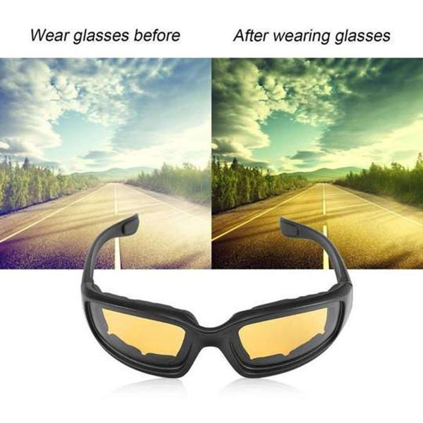 Copy of 'Buy 2 free shipping 'Anti-Glare Motorcycle Glasses 80% discount