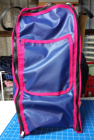 PVC Top Boot Bag