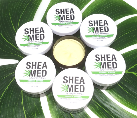 Better Butter cream for skin and pain relief by Shea Med