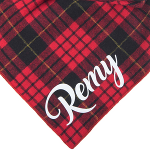 Clark Flannel Personalized Set