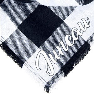 Personalized Midnight Fray Bandana + Scarf