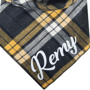 Stormy Flannel Personalized