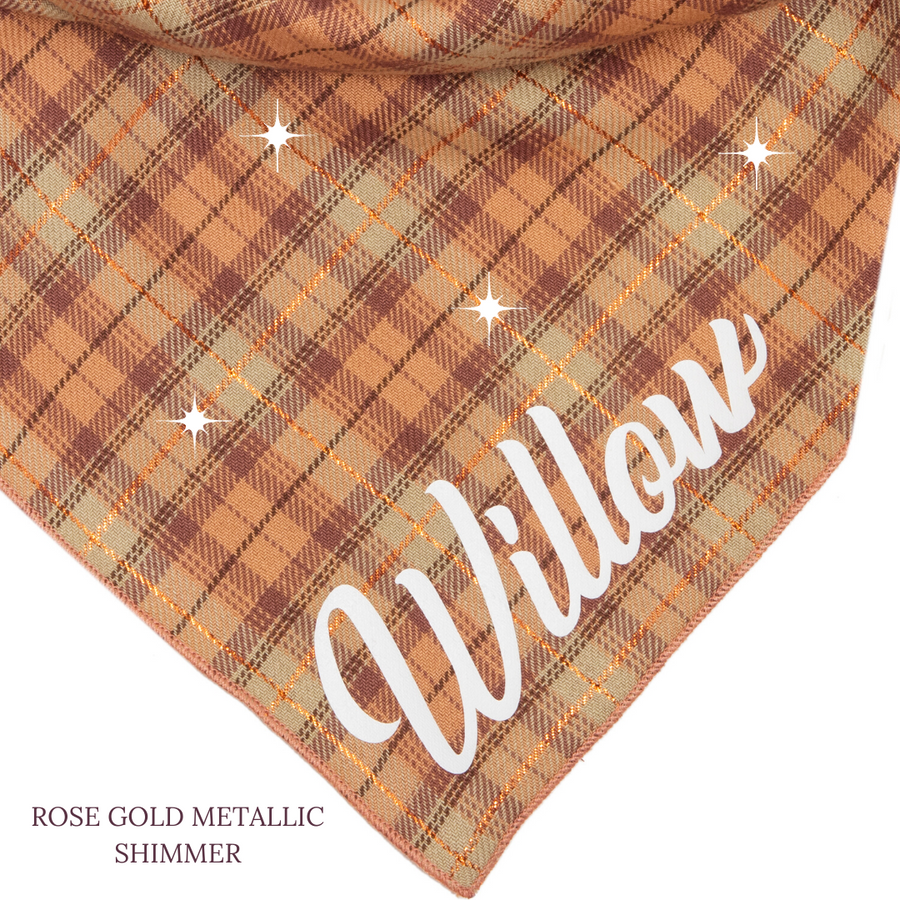 Cheyenne Shimmer Personalized Bandana + Women's Top