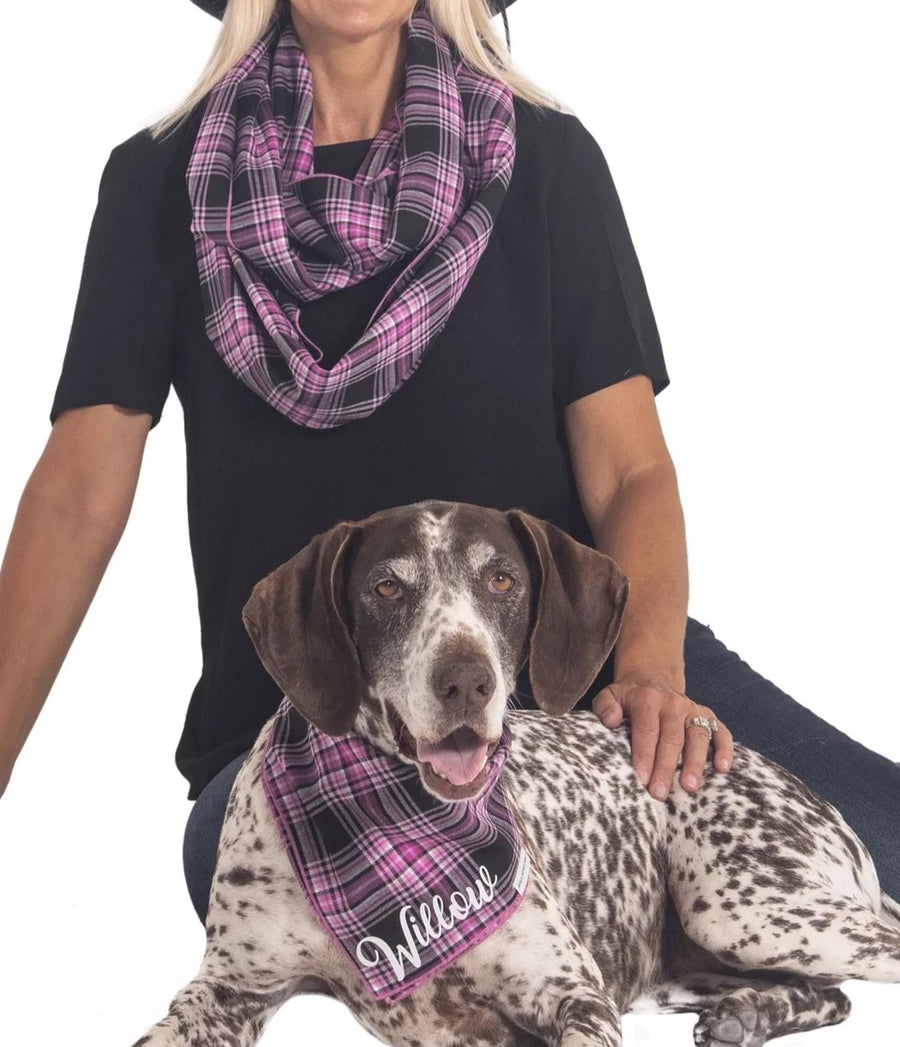Personalized Victoria Bandana + Infinity Scarf
