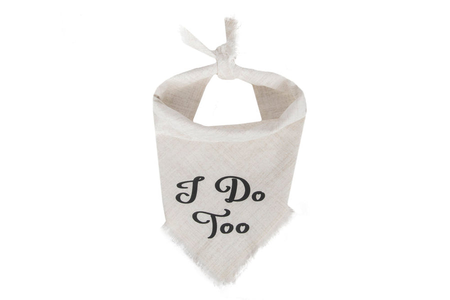 Willowear Wedding Dog Bandanas