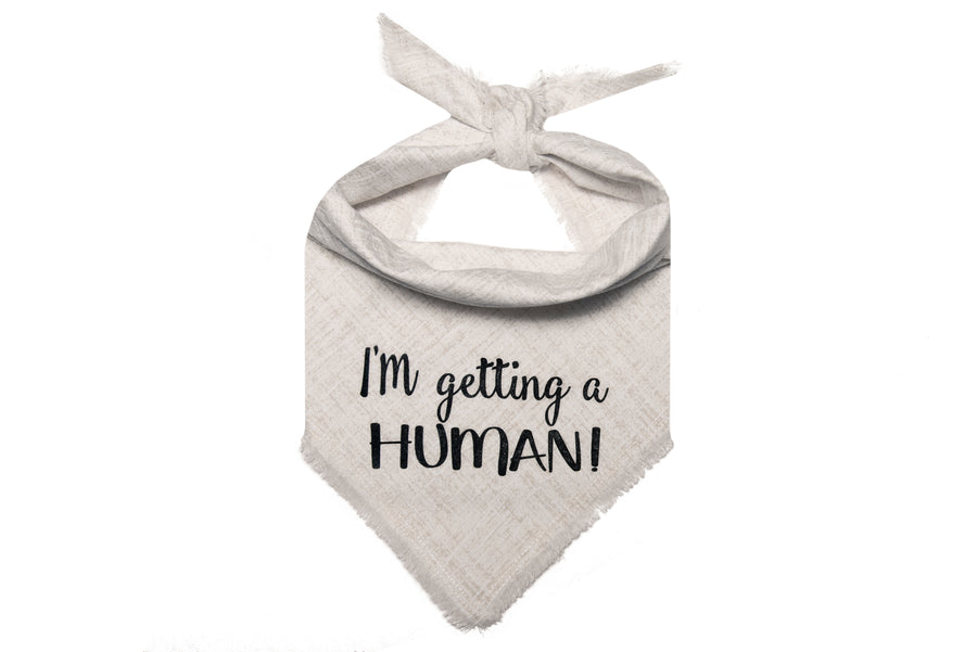 I'm Getting a Human! (White/Black)