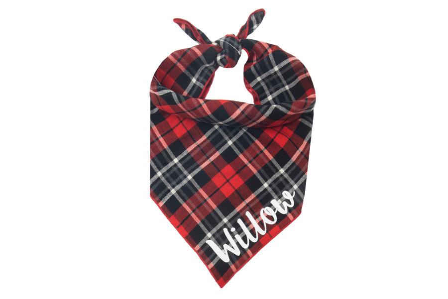 Personalized Dashing Bandana + Scarf