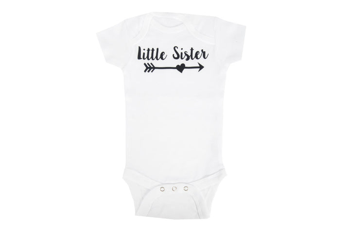 Little Sister Arrow Onesie