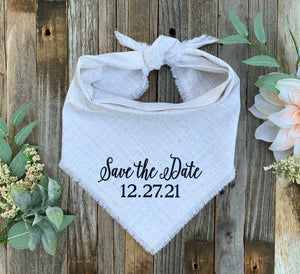 Save the Date (White/Black)