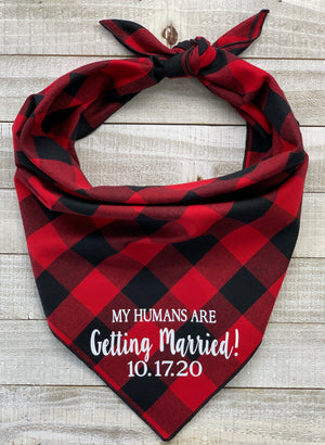 My Humans Are Getting Married! (Red)