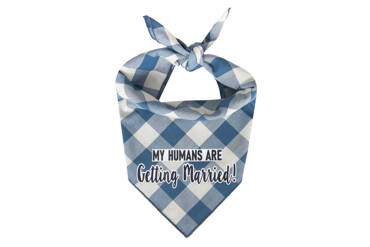 My Humans Are Getting Married! (Rustic Blue)