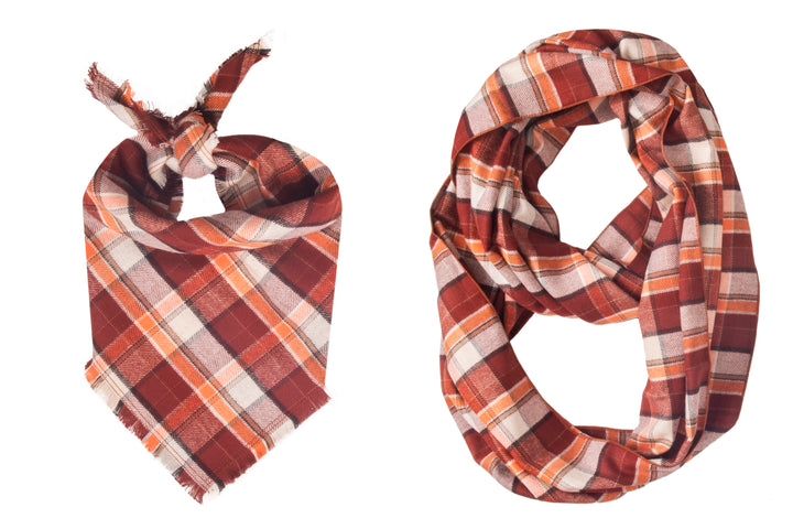 Toasty Fray Bandana + Scarf