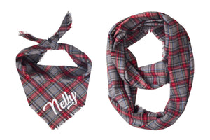 Personalized Asher Fray Bandana + Scarf
