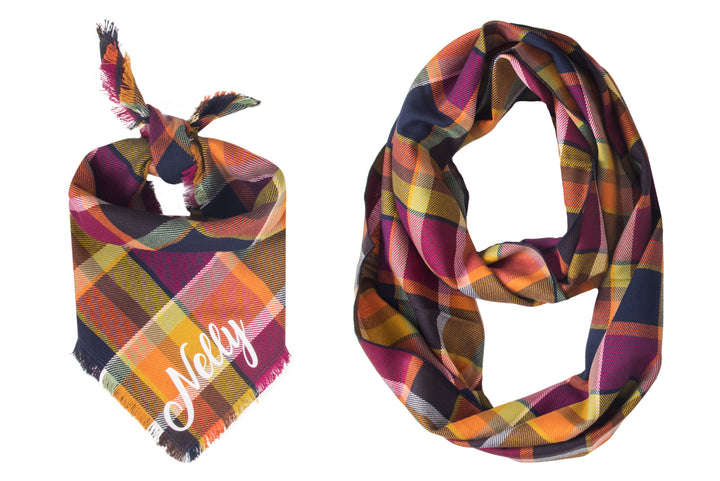Personalized Fallon Fray Bandana + Scarf