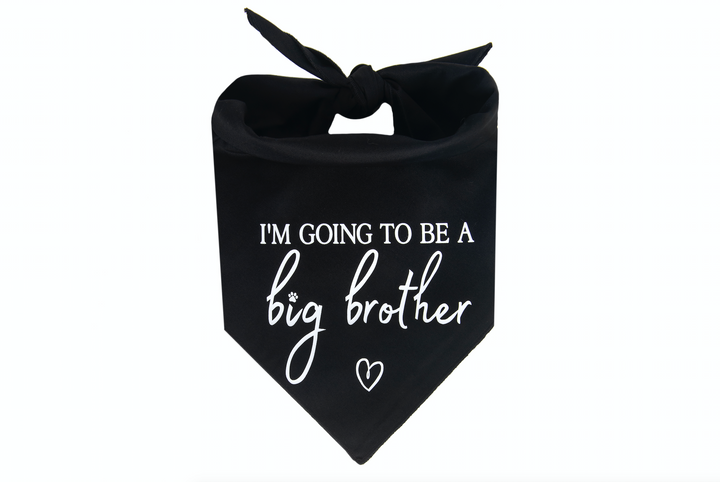 I'm Going to be a Big Brother - Black