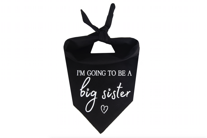 I'm Going to be a Big Sister - Black