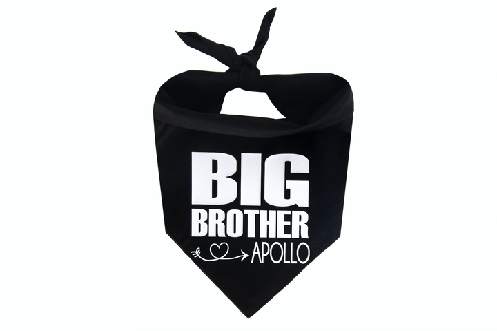 Big Brother Personalized - Black