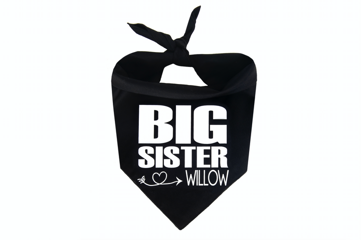 Big Sister Personalized - Black