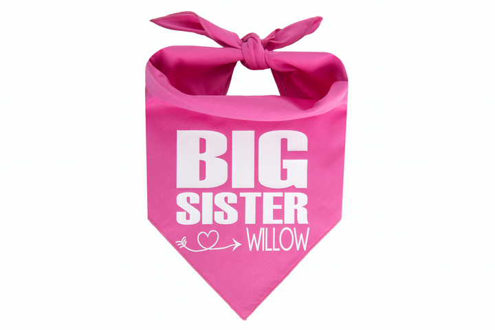 Big Sister Personalized - Pink
