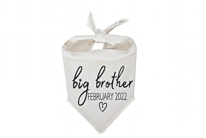 Big Brother with Due Date - Ivory Fray