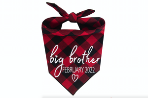 Big Brother with Due Date - Red/Black