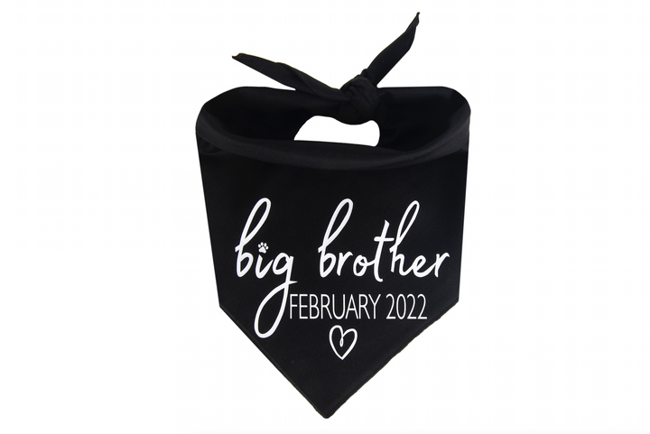 Big Brother with Due Date - Black