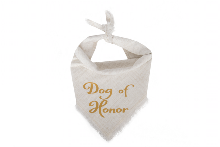 Dog of Honor (Gold)