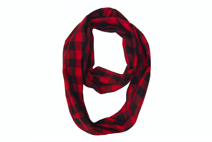 Classic Red Infinity Scarf
