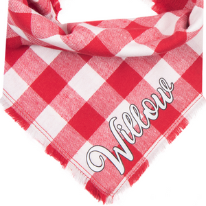 Personalized In Love Fray Bandana