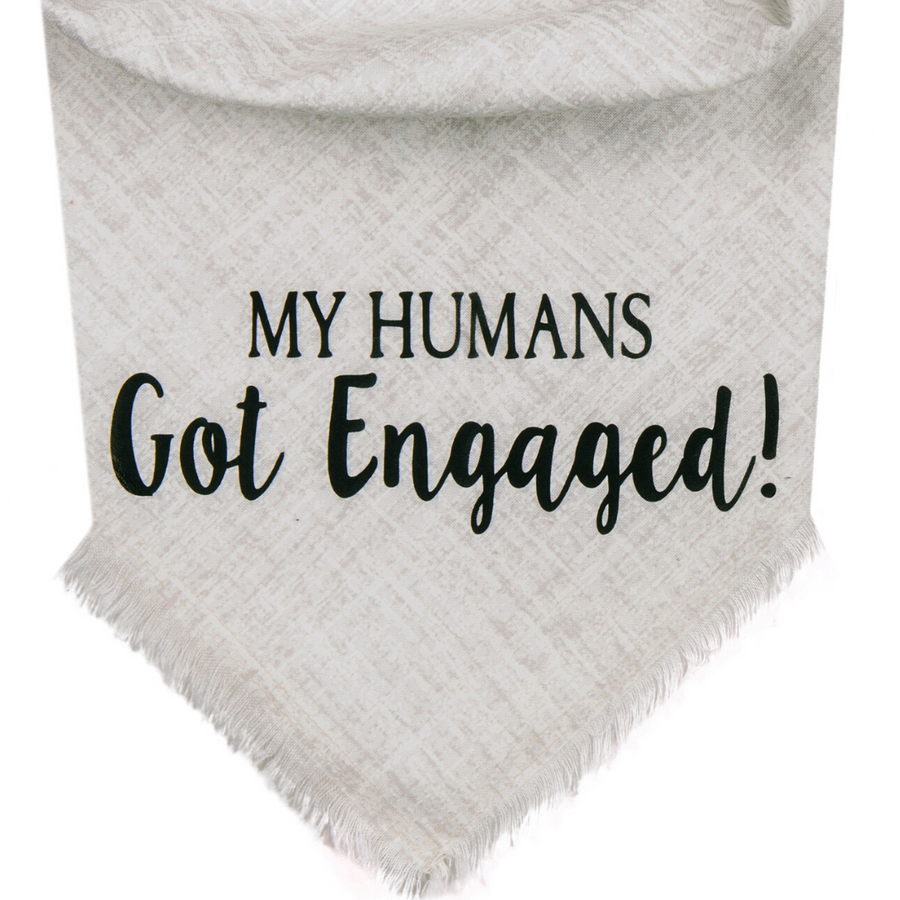 My Humans Got Engaged! (White/Black)