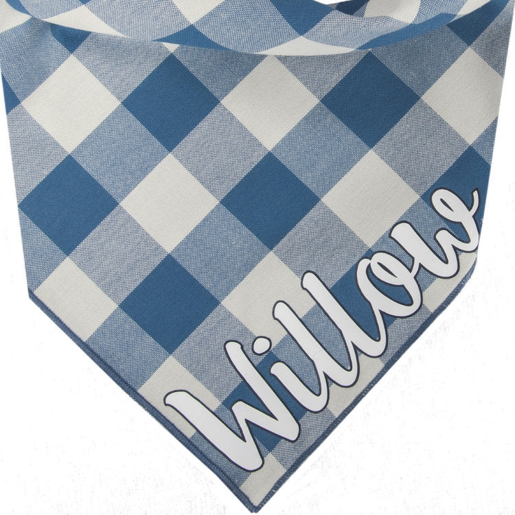 Willowear Personalized Dog Bandanas