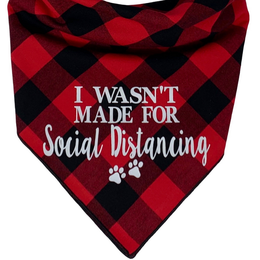 I Wasn't Made For Social Distancing Set (Classic Red)