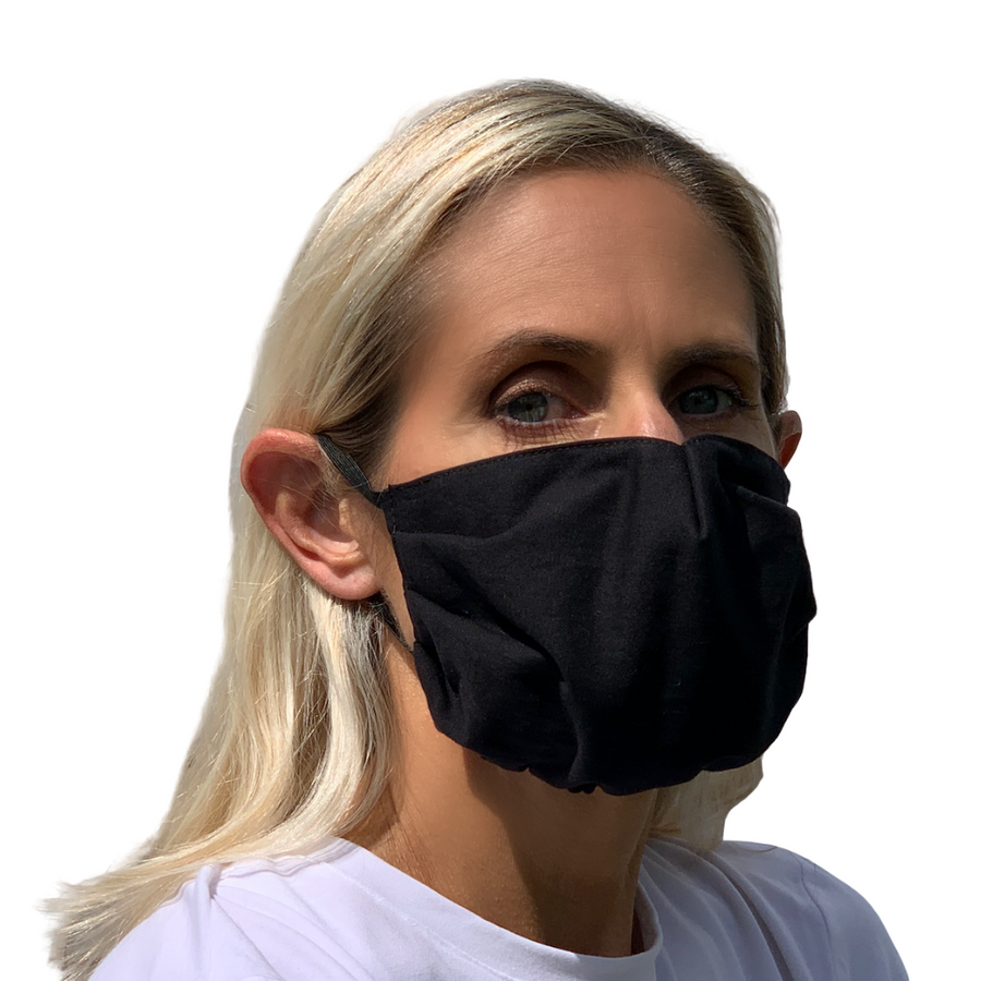 Black Face Mask - 3 Sizes