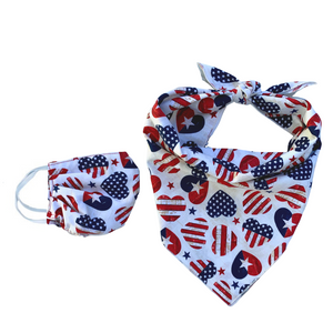 Patriotic Hearts Set