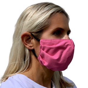 Pink Face Mask - 3 Sizes
