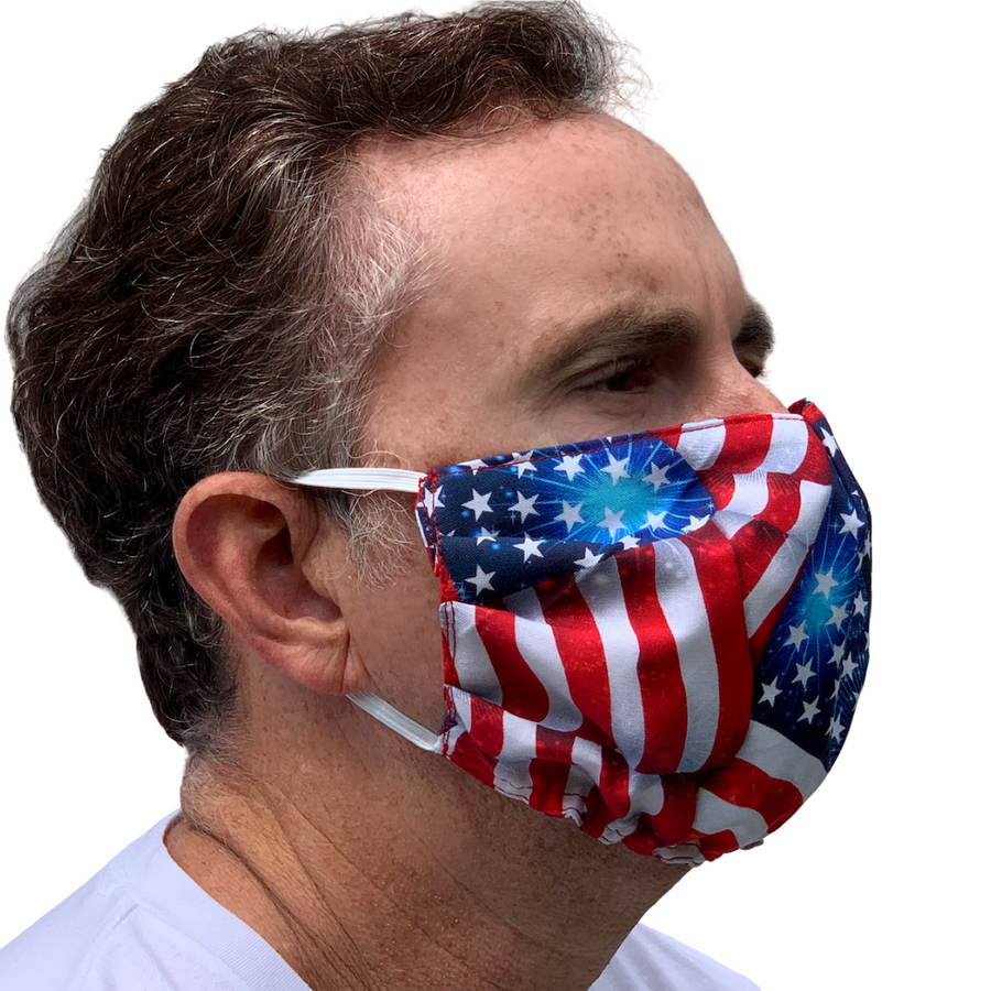 Old Glory Face Mask - 3 Sizes