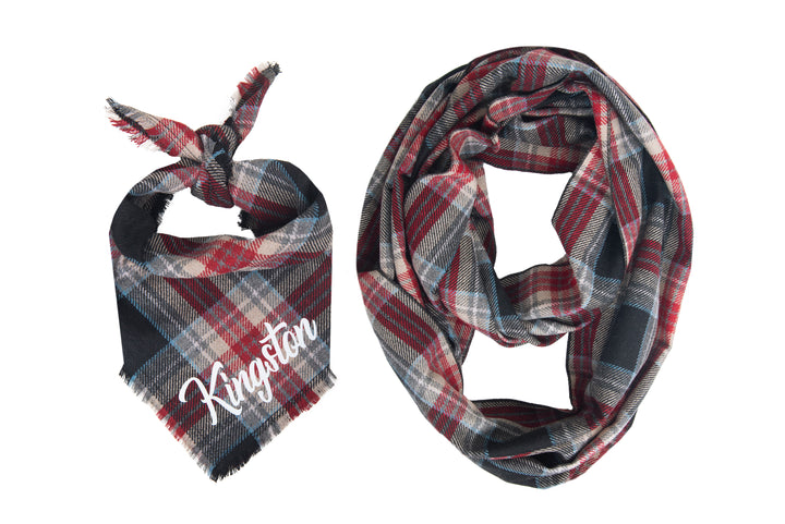 Personalized Kingston Fray Bandana + Scarf