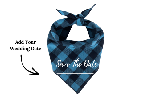 Willowear Engagement Dog Bandanas