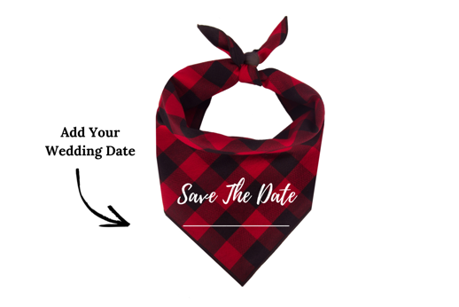 Save the Date (Red)