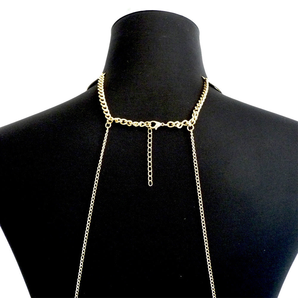 Layered Crossover Body Chain