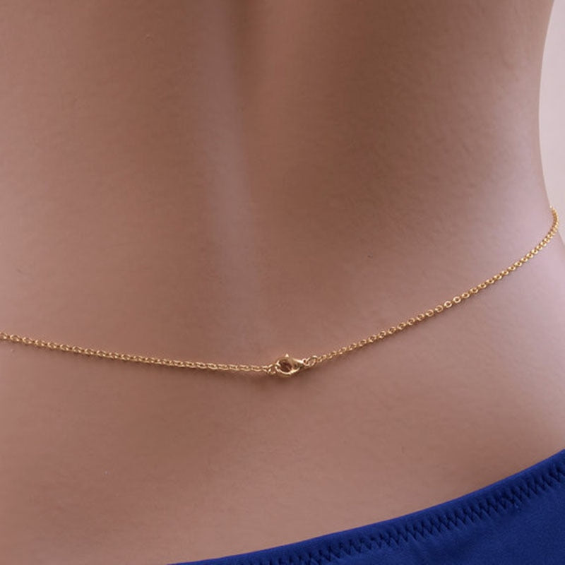 Simple Zircon Body Chain