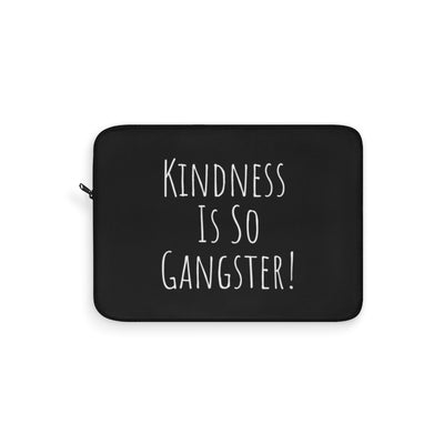Kindness Laptop Sleeve - Black