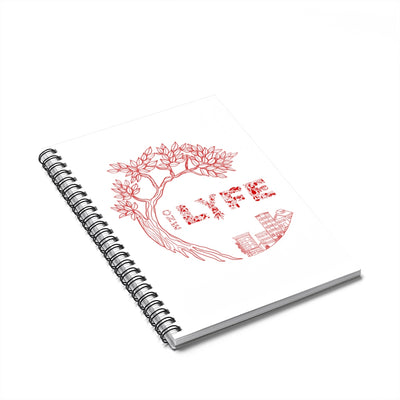 The One Lyfe Spiral Notebook - Ruled Line