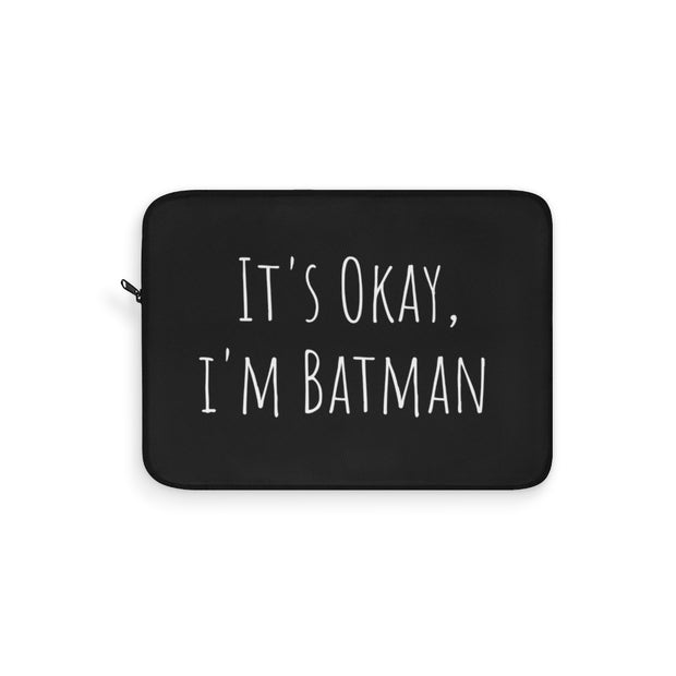 Batman Laptop Sleeve - Black