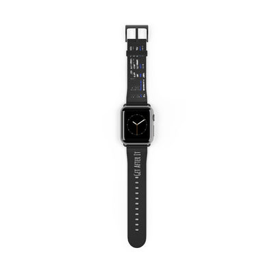Thin Blue Watch Band